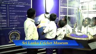 The Students of Nayapana Tamil Vidyalaya visits Sri Lanka Cricket Museum