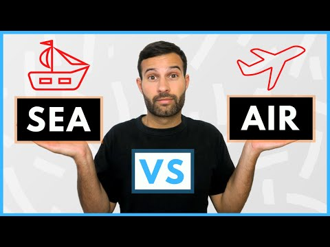 Amazon FBA UK Shipping | Sea vs Air Freight | Which Is Best For You?