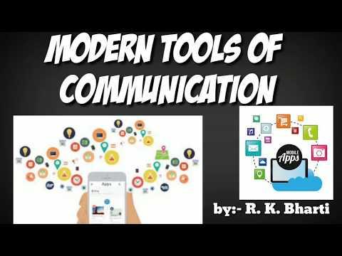 Modern Tools Of Communication. Up Polytechnic