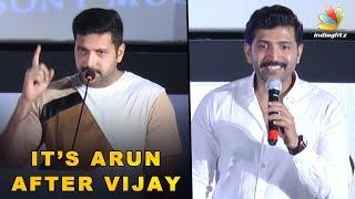 It's Arun Vijay after Ilayathalapathy : Jayam Ravi Speech at Kuttram 23 Audio Launch
