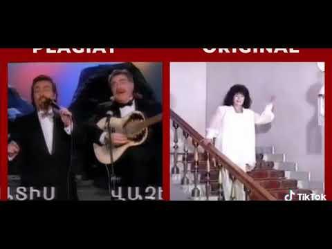 И сново плагиат. Армяне перепевают песни Азербайджанцев.