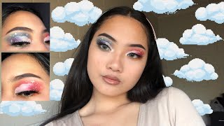'HEAD IN THE CLOUDS' MAKEUP TUTORIAL // morphe x james charles palette
