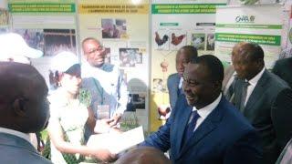 1ere Édition du SIBVAO 2016: La visite des stands suivi du mot du Ministre Adjoumani
