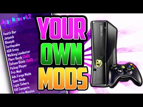 Xbox - Get Your OWN Mods/Mod Menu (Modded Xbox RGH/JTAG's are HERE)::