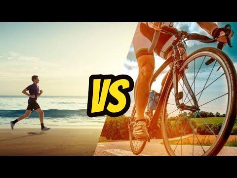 أيهما أفضل: الجري أم ركوب الدراجات الهوائية؟