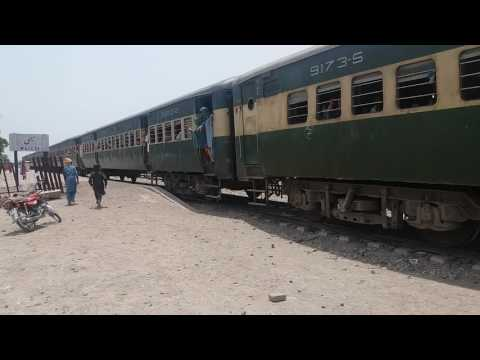 fareed express  train Pakistan