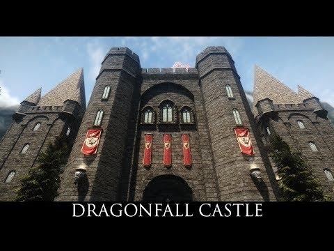 TES V - Skyrim Mods: Dragonfall Castle