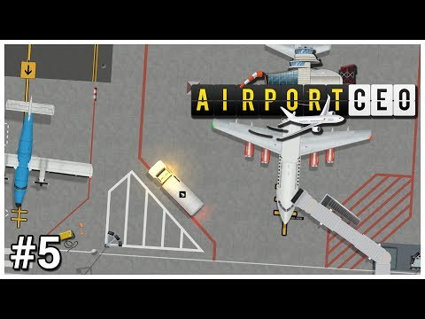 Airport CEO - #5 - Jet Fuel - Let's Play / Gameplay / Construction