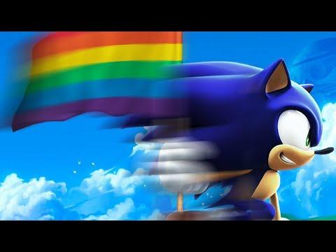 Sonic es gay - YouTube