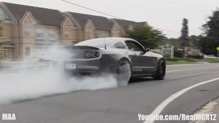 widebody shelby 1000 burnout