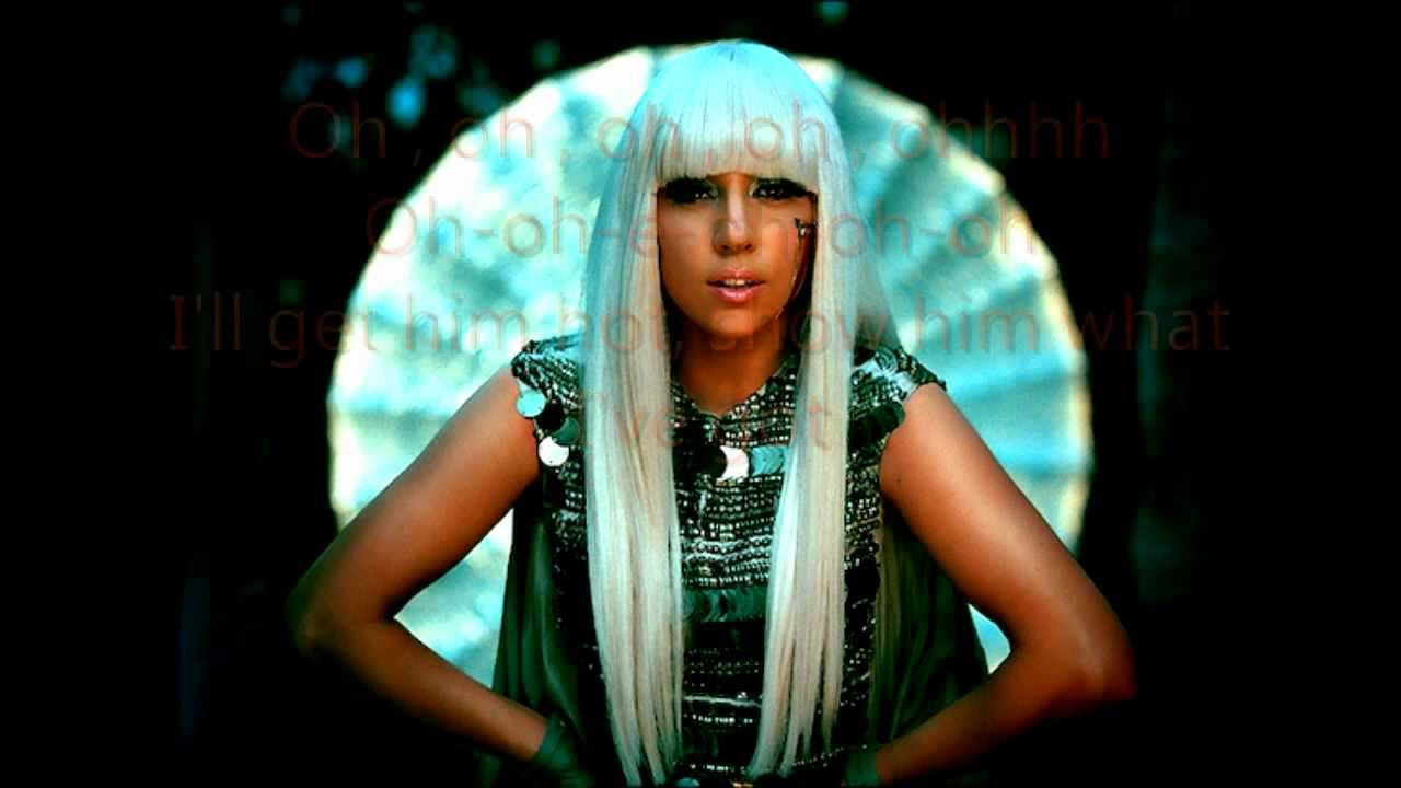 Lady Gaga Poker Face Lyrics - YouTube
