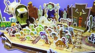 Part 3- Let's Build Wild West Plants Vs Zombies PVZ 2 Pianist Prospector Cowboy Zombie Bull DIY thumbnail