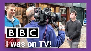 I Was On the BBC!