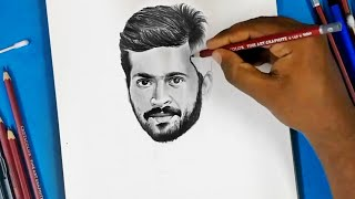 Pencil Drawing Of Harish Kalyan | Pyaar Prema kadhal