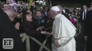 Pope Francis Apologizes For Slapping Woman's Hand