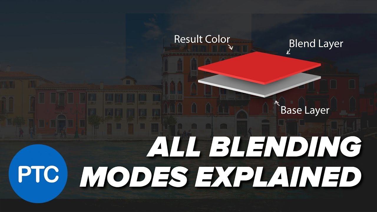 Blending Modes Explained - The Complete Guide to Photoshop