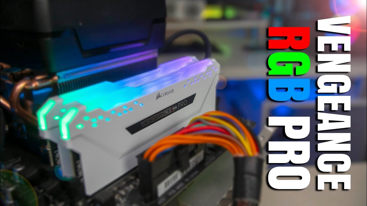 Corsair Vengeance Pro RGB Memory - RGB Just Got Better