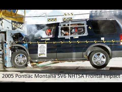 2005-2009 Chevrolet Uplander / Saturn Relay / Pontiac Montana SV6 NHTSA Frontal Impact