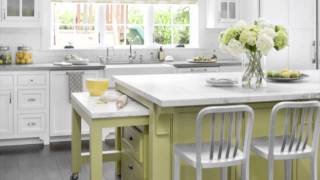 Kitchen Design Ideas - Green Color Scheme Ideas
