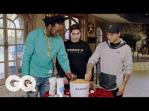 2 Chainz Eats Gold-Coated Billion Dollar Popcorn | Most Expensivest | GQ