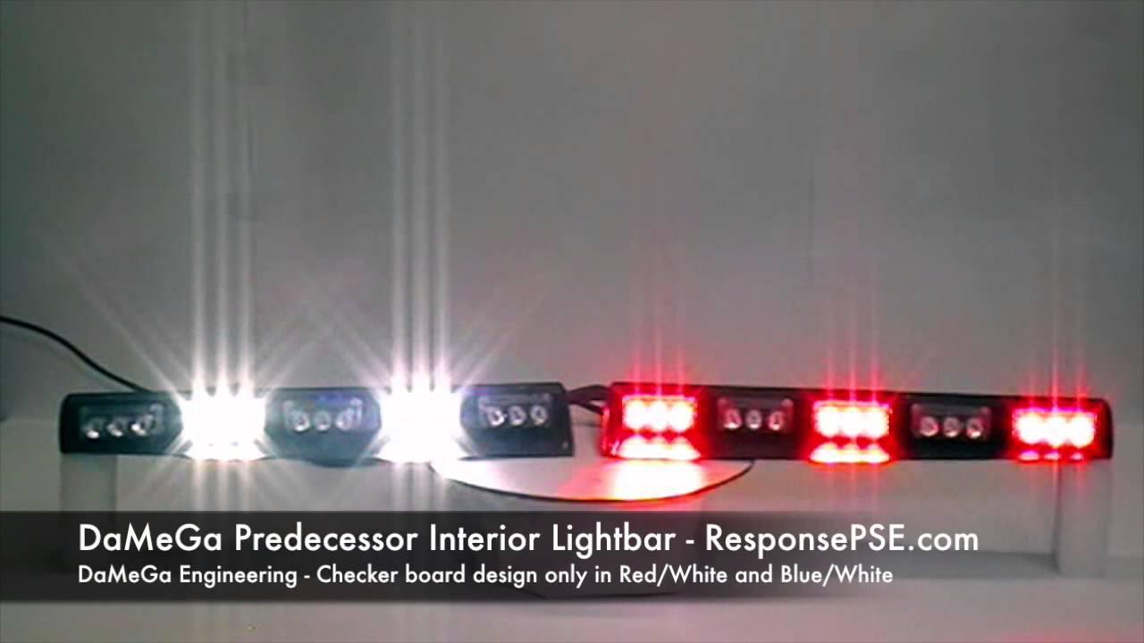 hight resolution of damega predecessor interior led lightbar by responsepse com
