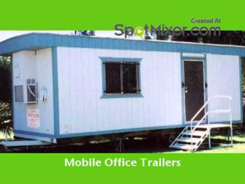 Golden Office Trailers -  mobile office trailers  -  San diego 619-489-6687