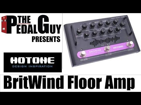 Hotone BritWind Legacy Floor Amplifier