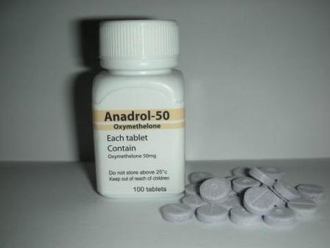 Oximetolona ( Anadrol 50 ) - YouTube