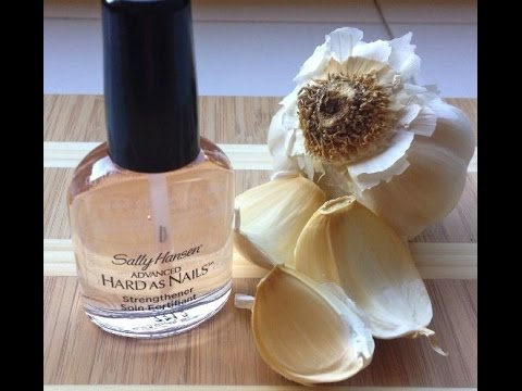 DIY Garlic Based Nail Strengthener - YouTube