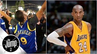 Was Kobe Bryant wrong to say Warriors have bandwagon fans? | The Jump