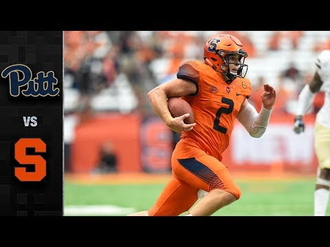 Pittsburgh vs. Syracuse Football Highlights (2017)