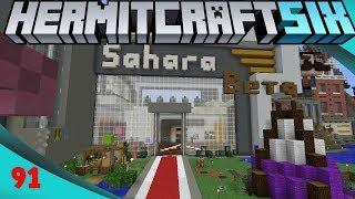 Checking Out Sahara - Hermitcraft 6 Ep91