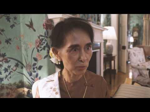 Daw Aung San Suu Kyi of Burma Reflects on Oval Office Visit