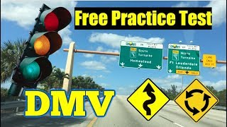 PRACTICE TEST  DMV 2018/ QUESTIONS /DRIVER LICENSE