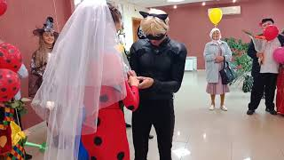 Леди Баг и супер кот поженились!!!! 😍😍😍