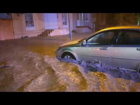 Потоп в Феодосии.
