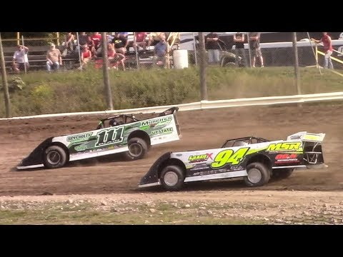 Topless RUSH Crate Late Model Heat Four | Genesee Speedway | 9-17-17