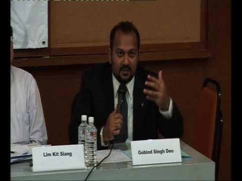 DNA Identification Bill Public Forum : Gobind Singh (3 of 3)