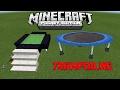 How To Make Trampoline 100 Working Minecraft PE