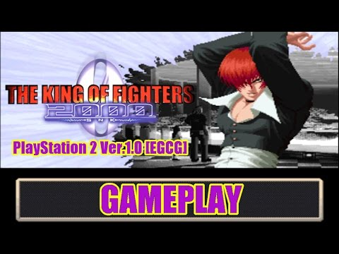 [Gameplay] The King Of Fighters 2000 PS2 Ver. 1.0 [EGCG]