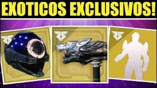 Destiny 2: Exóticos Exclusivos! Obras Maestras Únicas de Facción, Gestos, Arma Chetada y Más!