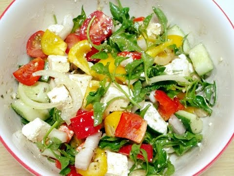 กรีกสลัด Greek Salad