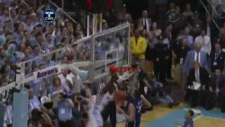 Repeat youtube video Dexter Strickland Posterizes Miles Plumlee