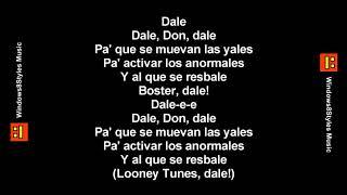 Don Omar - Dale Don Dale (Letra)