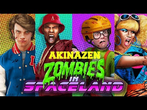 "EPIC FAIL!!! ""ROUND 100 ATTEMPT"" - ZOMBIES AT SPACELAND *LIVESTREAM* w/ AkinaZEN!"
