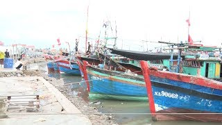 Nghệ An sẵn sàng ứng phó bão số 4 và cấm ngư dân ra biển