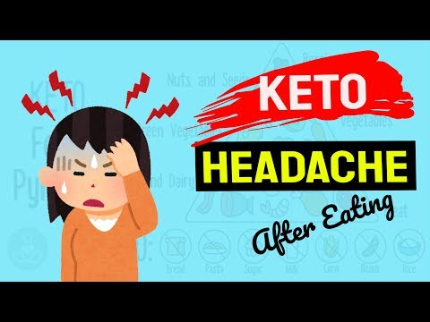 Keto Headache After Eating | Why It Happens & 3 SIMPLE STEPS To Cure It Without Popping Pain Killers