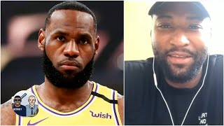 DeMarcus Cousins gives one reason why LeBron should win NBA MVP over Giannis   Jalen & Jacoby