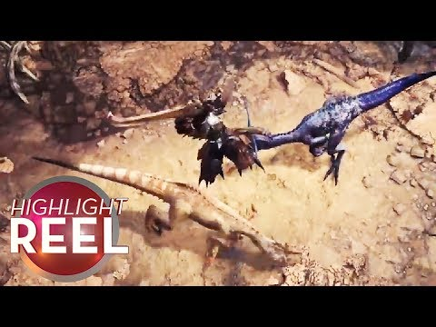 Highlight Reel #370 - Monster Hunter Player Kills Two With One Blow