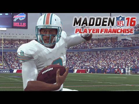Madden NFL 16 - QB Player Franchise Ep. 5 - Week 4 at. Buffalo